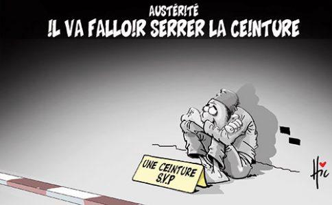 Caricature algerienne